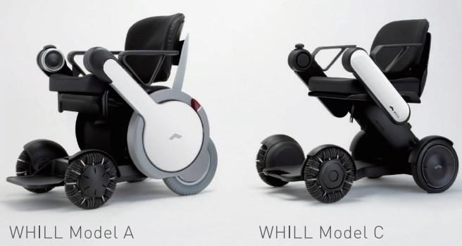 WHILL(ウィル)のモデルタイプ